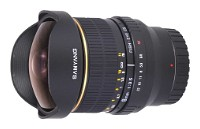 Samyang 8mm f/3.5 AS IF MC Fish-eye CS Samsung NX